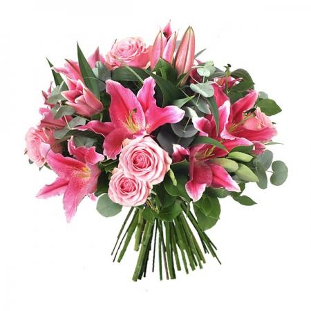 ramo flores rosas cumpleaños