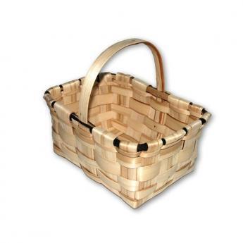 cesta para setas mediana de castano fabricacion nacional