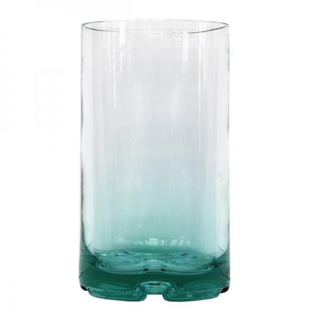 jarron tubo cristal