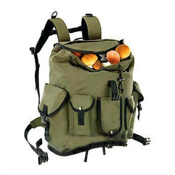 mochila para setas con bolsillos