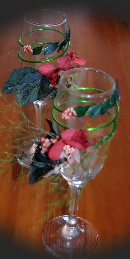copas flores preservadas