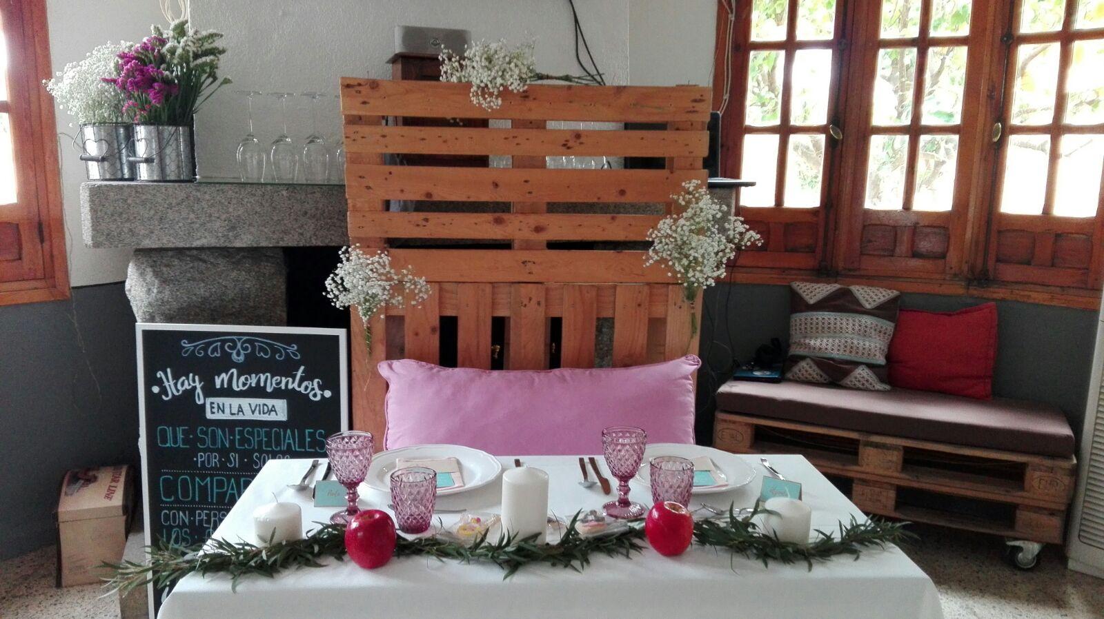 decoracion para bodas en pequenos lugares