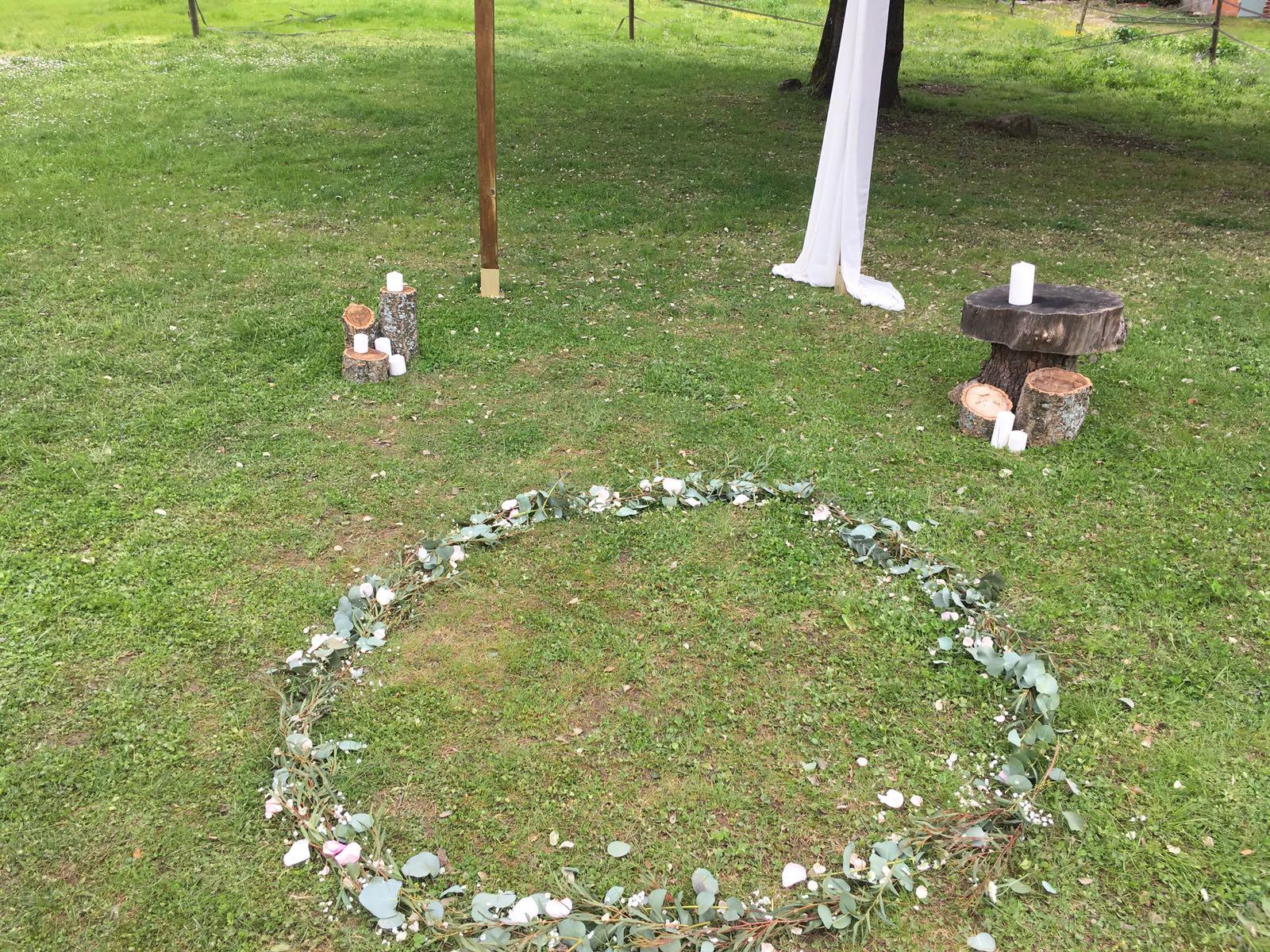 decoración para bodas - jardines