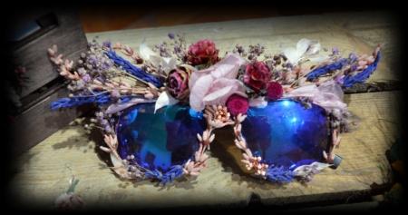 gafas flores preservadas margery madera