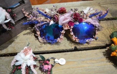 gafas flores preservadas margery surtido