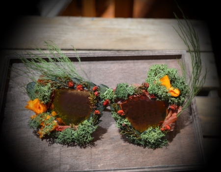 gafas flores preservadas superstar madera