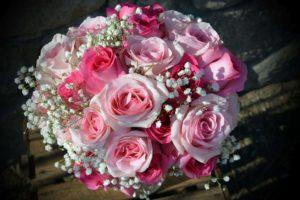 ramo de novias de rosas - bouquet de rosas