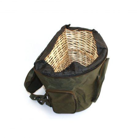 mochila para setas boletus interior