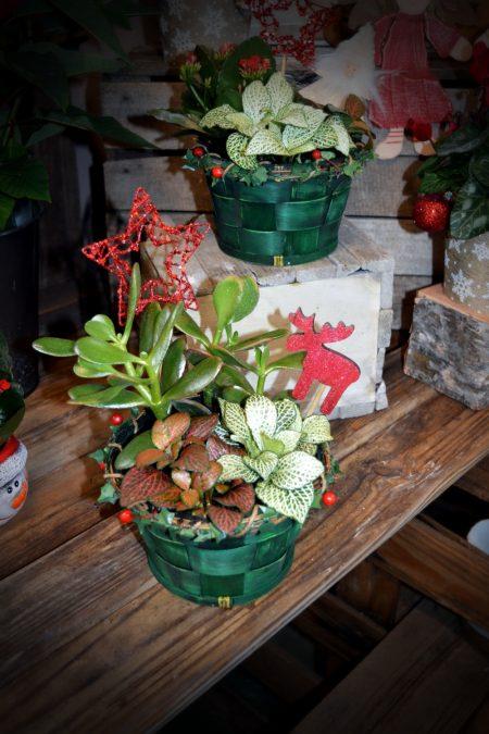 decoración-navidad-cesta