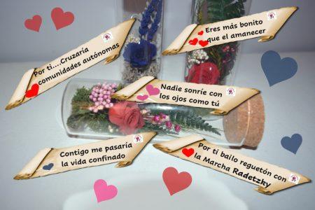 mensaje frases flores rosas